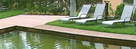 schwimmteich badeteich wellness im eigenem garten. Black Bedroom Furniture Sets. Home Design Ideas